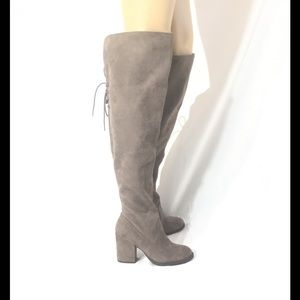 SO Authentic American Jetset Over The Knee Boots